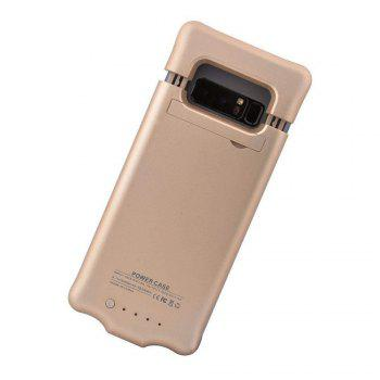 XY16 Back Clip Battery Charger Shell for Mobile Phone for Samsung Note 8 - GOLDEN