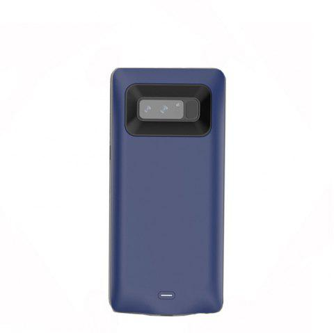 XY001 Charging Back Clip Large Capacity Mobile Phone Battery for Samsung Note 8 - BLUE
