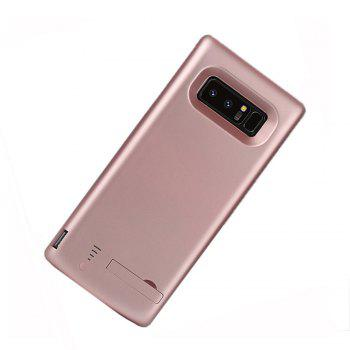 XY003 Back Clip Mobile Power All Inclusive Soft Edge 6500mAh for Samsung Note 8 - ROSE GOLD