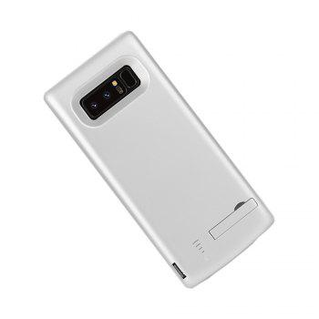 XY003 Back Clip Mobile Power All Inclusive Soft Edge 6500mAh for Samsung Note 8 - WHITE