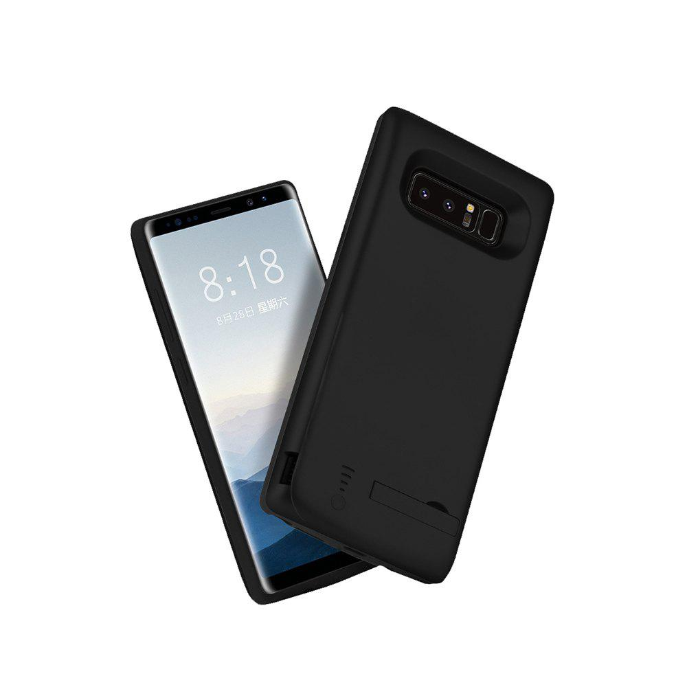XY003 Back Clip Mobile Power All Inclusive Soft Edge 6500mAh for Samsung Note 8 - BLACK