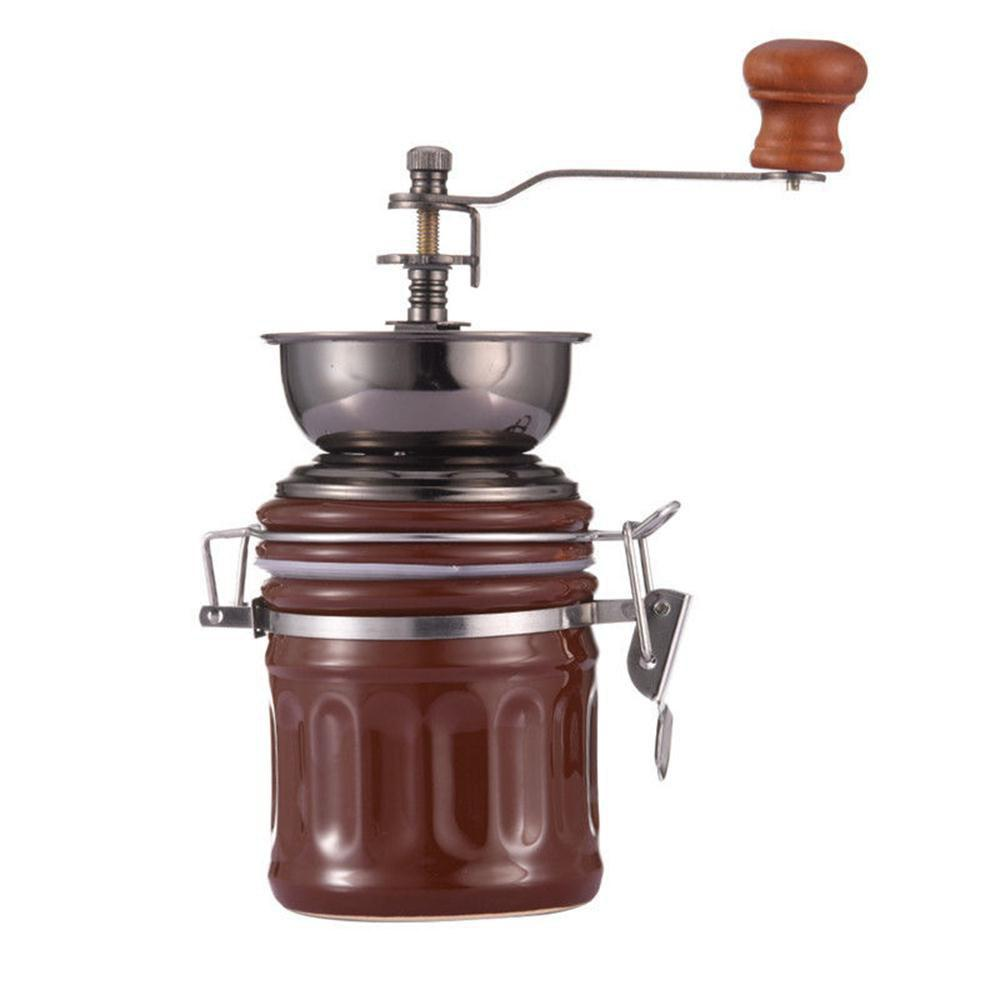 Retro Hand Coffee Beans Grinder Pepper Spices - COFFEE