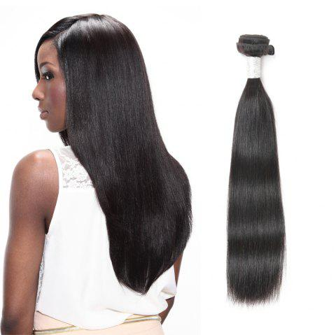 Rebecca Fashion Brazilian Remy Human Hair Straight Weaves R5 1pc/lot 100g RC09177 - NATURAL COLOR 10INCH