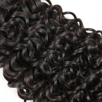 Brazilian Remy Human Hair Jerry Curl Weft R5 1pc Per Lot 95g RC0920 - NATURAL BLACK 20INCH