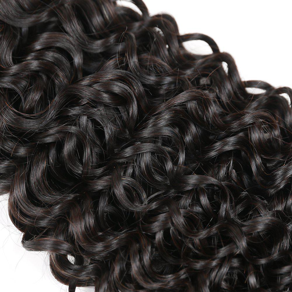 Brazilian Remy Human Hair Jerry Curl Weft R5 1pc Per Lot 95g RC0920 - NATURAL BLACK 16INCH