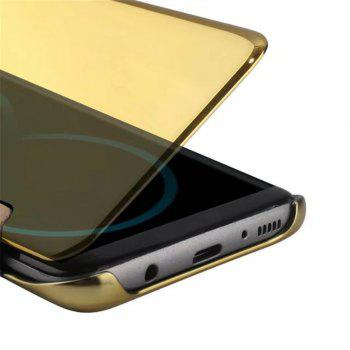 Case for Samsung Galaxy S8 Plus Smart View Leather Cover Mobile Phone - GOLDEN