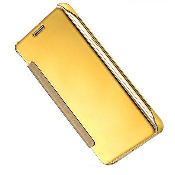 Case for Samsung Galaxy S8 Smart View Leather Cover Mobile Phone - GOLDEN