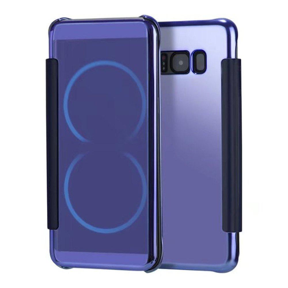Case for Samsung Galaxy S8 Smart View Leather Cover Mobile Phone - CERULEAN