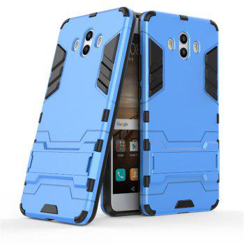 Case For Huawei Mate 10 Shockproof Tank Armour Hybrid Stents Shield - BLUE