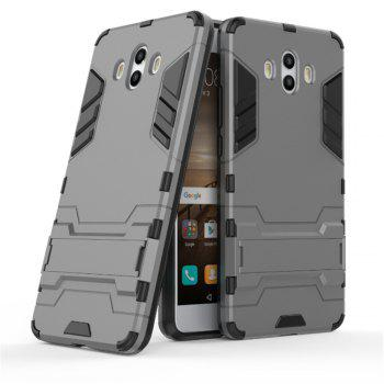 Case For Huawei Mate 10 Shockproof Tank Armour Hybrid Stents Shield - GRAY