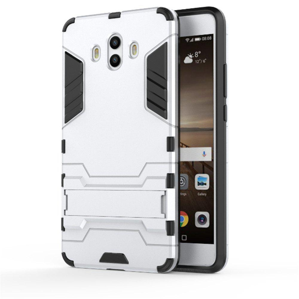 Case For Huawei Mate 10 Shockproof Tank Armour Hybrid Stents Shield - SILVER