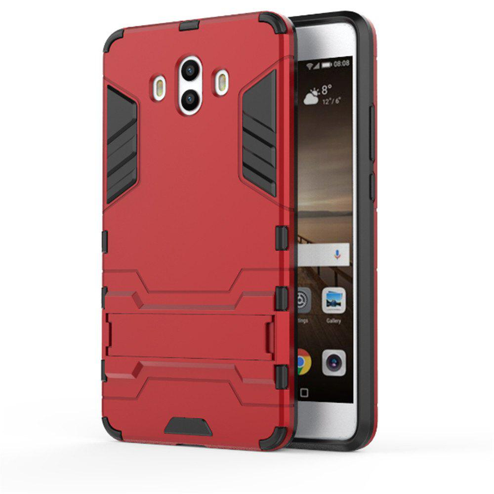 Case For Huawei Mate 10 Shockproof Tank Armour Hybrid Stents Shield - RED