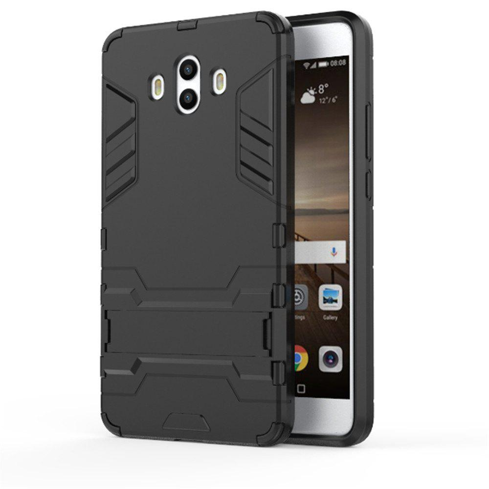 Case For Huawei Mate 10 Shockproof Tank Armour Hybrid Stents Shield - BLACK
