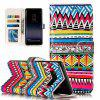 Embossed Color Pattern Leather Cover Case for Samsung Galaxy Note 8 - COLORFUL