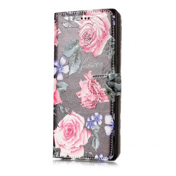 Embossed Vintage Pattern Leather Cover Case for Samsung Galaxy Note 8 - COLORFUL