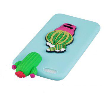 Three-Dimensional Lie Prone Bumpers Case for iPhone 7 Plus / 8 Plus - IVY