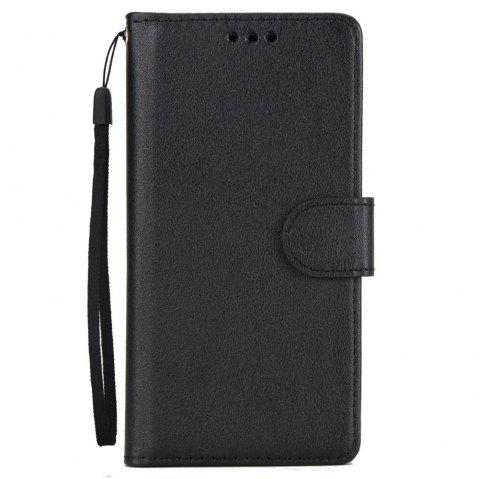 Pure Ribbon Card Bag Picture Frames Mobile Phone Protection Case For One Plus Five - BLACK