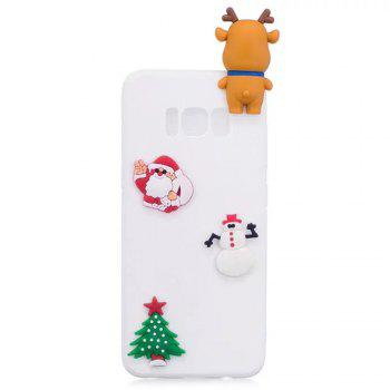 Elk Doll Christmas Series Mobile Phone Protection Case for Samsung S8