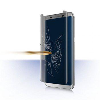 For Samsung Galaxy S8  Privacy Screen Protect 3D Curve Edge Easy to Install Full Coverage Tempered Glass - BLACK