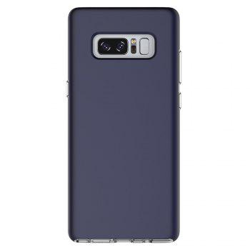 For Samsung Galaxy Note 8 Frosted Back Cover Case Solid Color Hard PC - BLUE