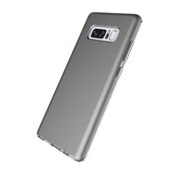 For Samsung Galaxy Note 8 Frosted Back Cover Case Solid Color Hard PC - GRAY