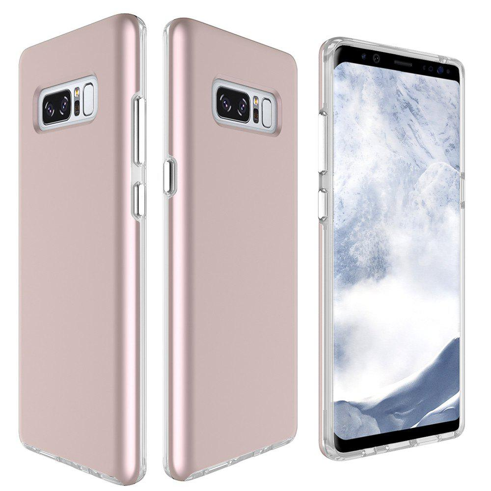 For Samsung Galaxy Note 8 Frosted Back Cover Case Solid Color Hard PC - ROSE GOLD