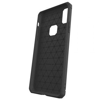 For iPhone X Dustproof Back Cover Case Solid Color Soft TPU - GRAY