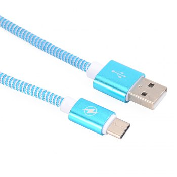 Type C To USB 2.0 Data Line for Data Exchange of Mobile Hard Disk 1M -  BLUE