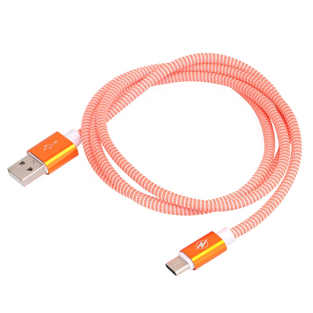 Type C To USB 2.0 Data Line for Data Exchange of Mobile Hard Disk 1M - ORANGE