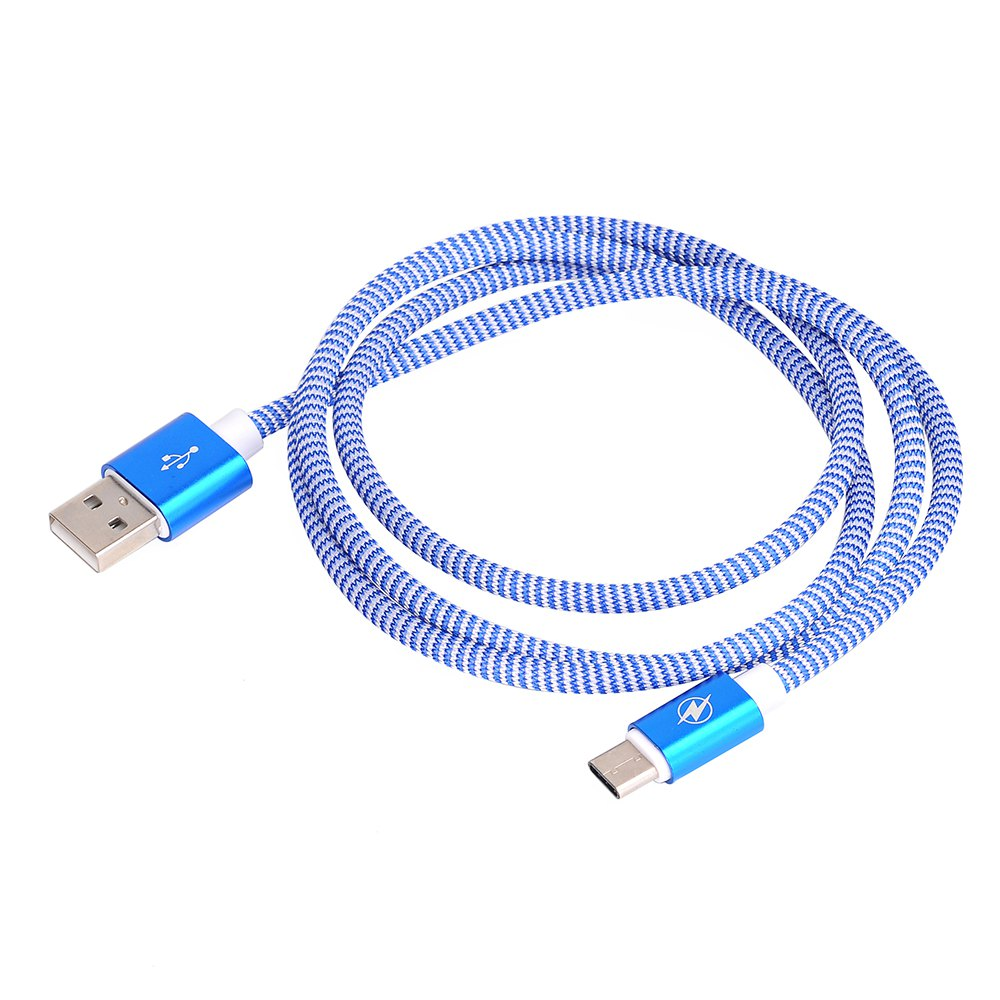 Type C To USB 2.0 Data Line for Data Exchange of Mobile Hard Disk 1M - DEEP BLUE