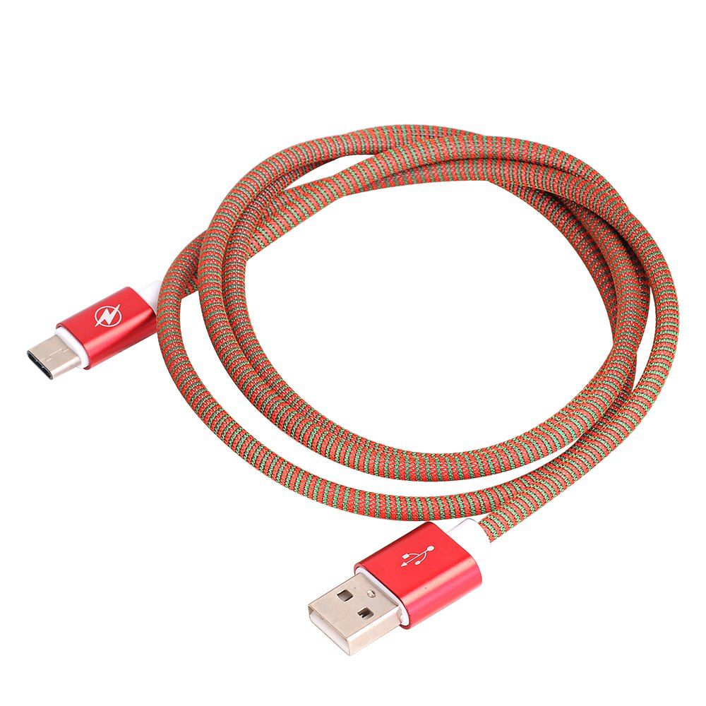 Type C To USB 2.0 Data Line for Data Exchange of Mobile Hard Disk 1M - RED