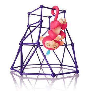 Jungle Gym Toy Set Climbing Stand Platform for Monkey -  PURPLE