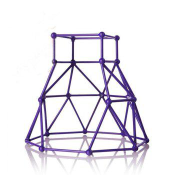 Jungle Gym Toy Set Climbing Stand Platform for Monkey - PURPLE PURPLE