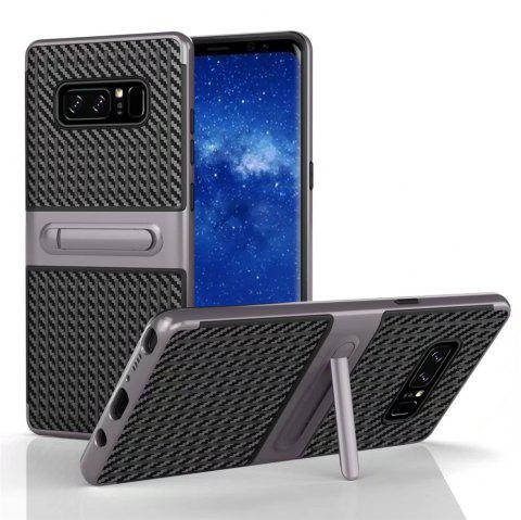 Stents with Full Body Protective and Resilient Shock Absorption Case for Samsung Galaxy Note 8 - GRAY