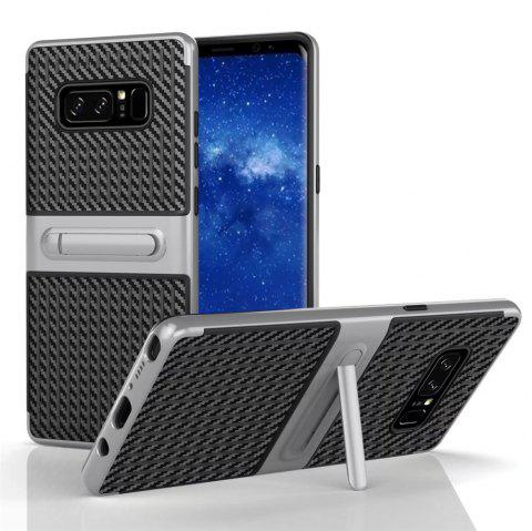 Stents with Full Body Protective and Resilient Shock Absorption Case for Samsung Galaxy Note 8 - SILVER