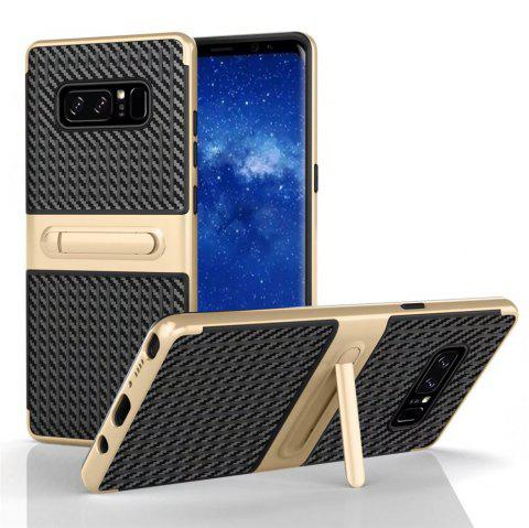 Stents with Full Body Protective and Resilient Shock Absorption Case for Samsung Galaxy Note 8 - GOLDEN