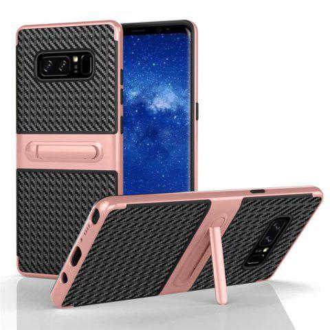 Stents with Full Body Protective and Resilient Shock Absorption Case for Samsung Galaxy Note 8 - ROSE GOLD