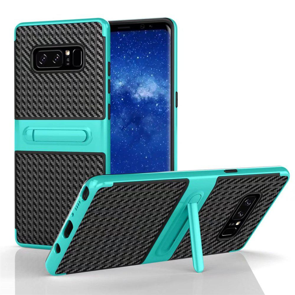 Stents with Full Body Protective and Resilient Shock Absorption Case for Samsung Galaxy Note 8 - GREEN