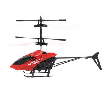 Infrared Induction Helicopter Toy for Kids - RED RED