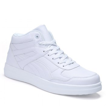 Men's Sneakers Lacing Couple Style All Match Comforty Shoes