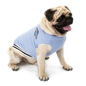 Dog Casual Autumn and Winter Padded Jacket - BLUE BLUE