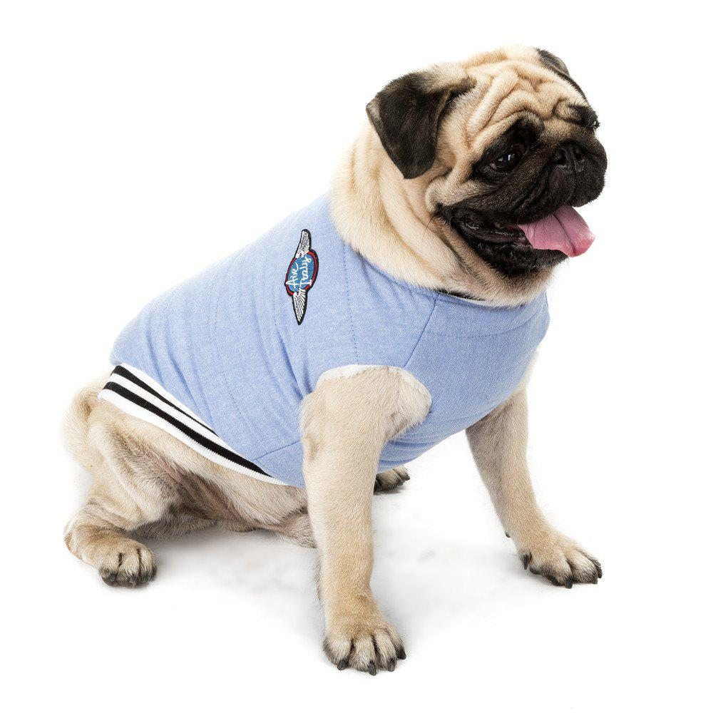 Dog Casual Autumn and Winter Padded Jacket - BLUE XL
