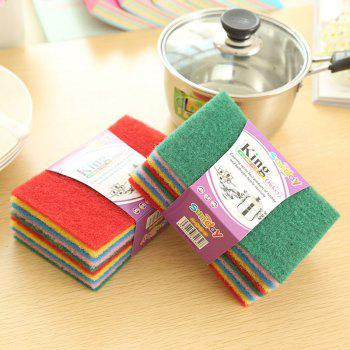 DIHE Scouring Pad Wash The Dishes Cleaner Multicolour 10PCS - COLORMIX