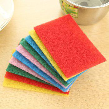 DIHE Scouring Pad Wash The Dishes Cleaner Multicolour 10PCS - COLORMIX COLORMIX