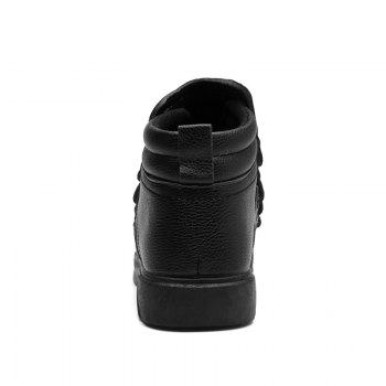 Personality Trend High Neck Board Shoes Man - BLACK 39