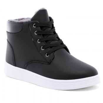 Suede Warm Fashion Students' Boots for Men