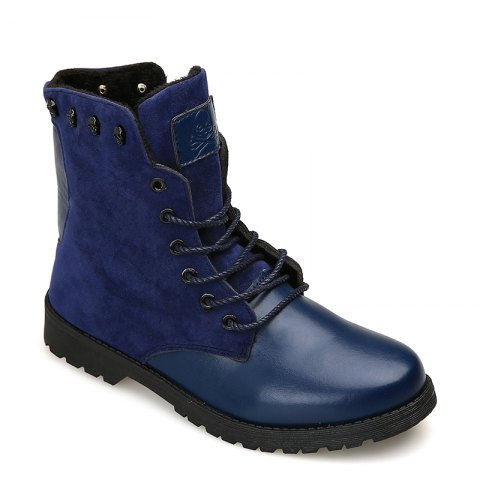 Martin Boots for Winter Style - BLUE 44