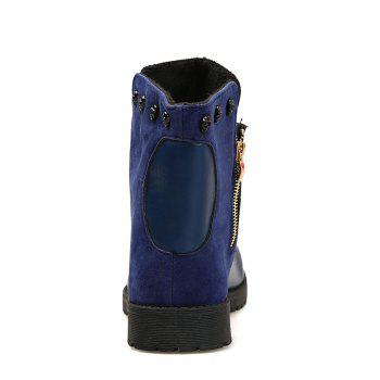 Martin Boots for Winter Style - BLUE 42