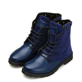 Martin Boots for Winter Style - BLUE BLUE