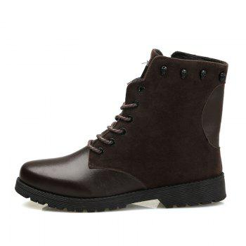 Martin Boots for Winter Style - BROWN 44